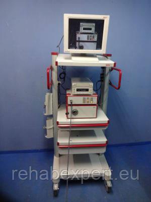 Эндоскоп Richard WOLF R 5508 Endocam, 5132 Light Source, R 85261.172 Lens, Endoscope, Endoskopie
