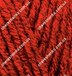 Нитки Alize Superlana Maxi 802 красный меланж