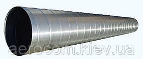 Спирально-навивные воздуховоды стальные круглые