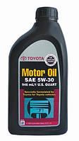 Масло моторное toyota 5w-30 sn, 0,946л (производство TOYOTA ), код запчасти: 002791QT5W