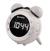 Радиочасы - будильник VITEK VT-3525 W