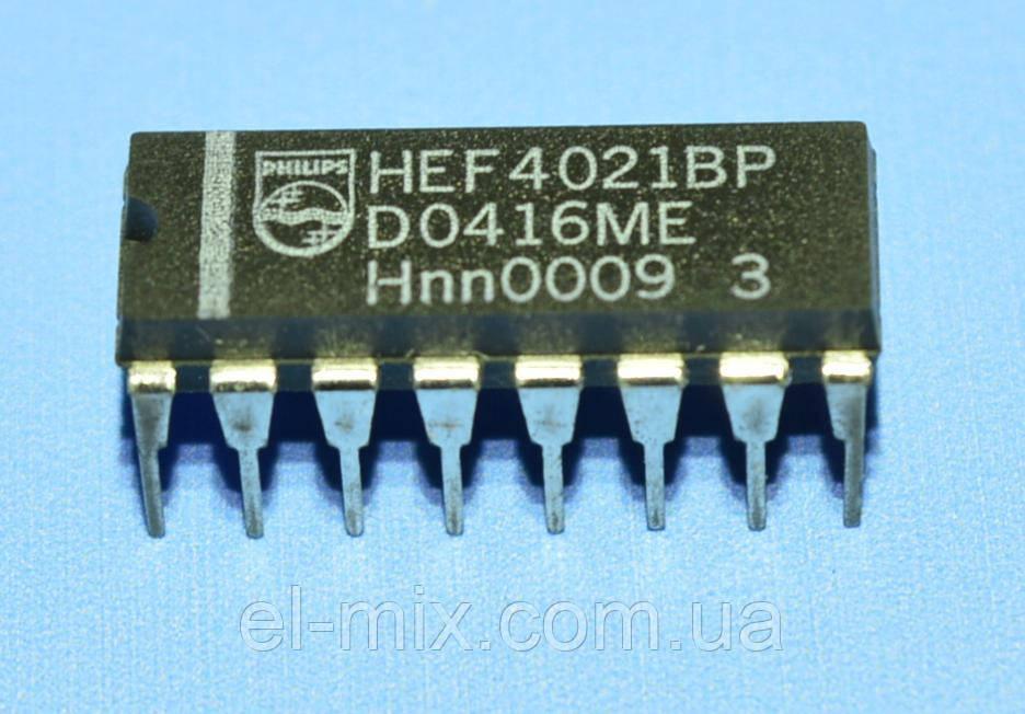 Мікросхема 4021 /HEF4021BP dip16 Philips