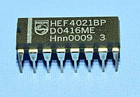 Микросхема 4021 /HEF4021BP  dip16   Philips