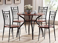 Комплект  Ambrozja I стіл+4 крісла