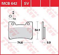 Тормозные колодки на  Yamaha FZR 1000 TRW / Lucas MCB642SV