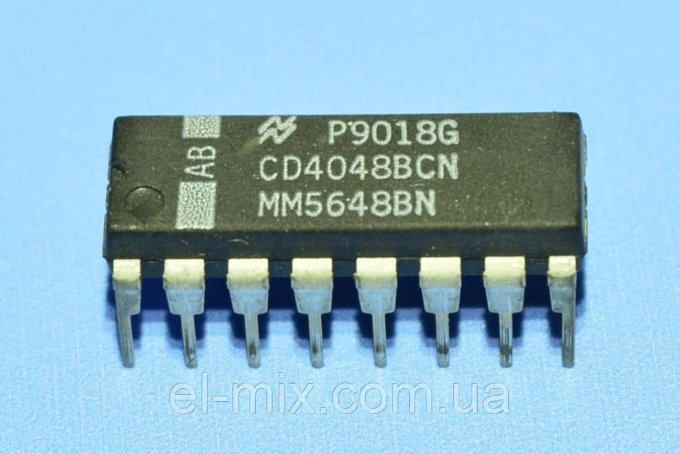Микросхема 4048 /СD4048BCN  dip16