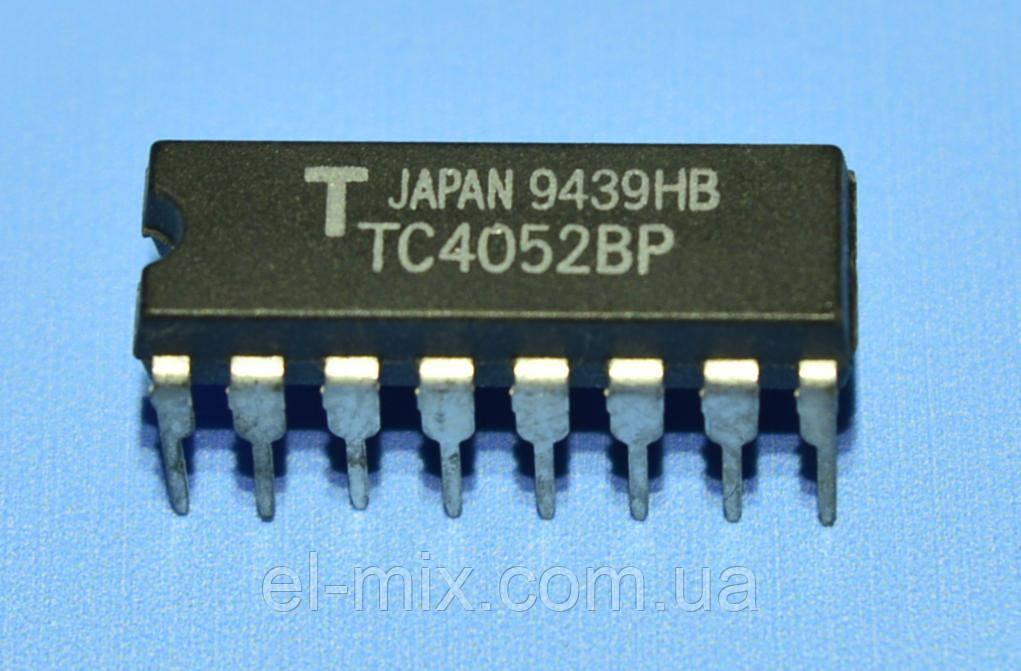 Мікросхема 4052 /TC4052BP dip16