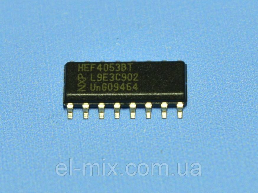 Микросхема 4053 /HEF4053BT(smd)  so16  NXP