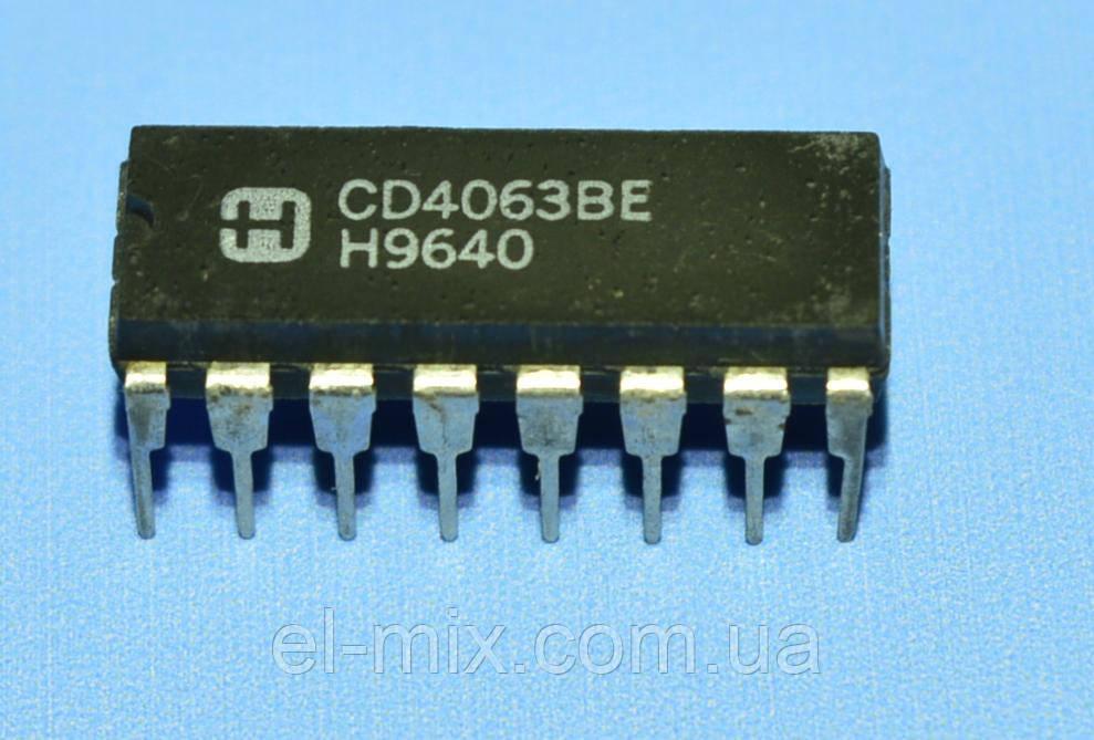 Микросхема 4063 /СD4063BE  dip16