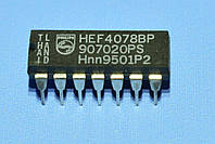 Микросхема 4078 /HEF4078BP  dip14   Philips