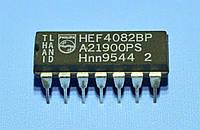 Микросхема 4082 /HEF4082BP  dip14   Philips