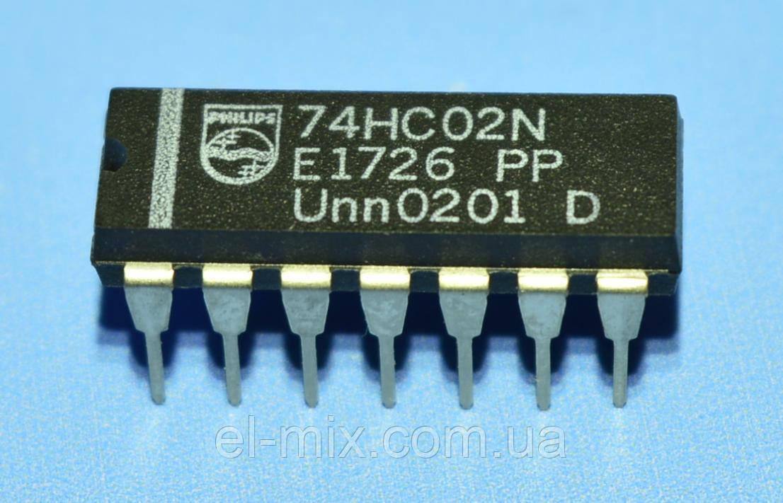 Микросхема 74HC02N  dip14  NXP/Philips