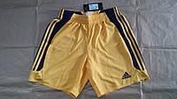 Шорты игровые желто-синие Adidas 563301