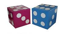 """Модульный набор мягких кубиков """"Кости"""" детям, фото 1"""