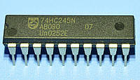 Микросхема 74HC245N  dip20  Philips
