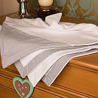 Детское махровое полотенце-уголок для новорожденного мальчика Guddini 90х90