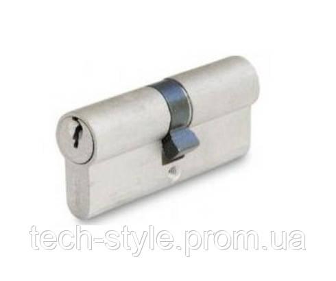 Цилиндр 40х40 мм, 5 лазерных ключей c пластиковой ручкой