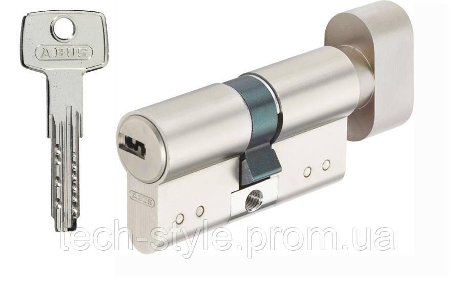Цилиндр с воротком 40х40 мм, 5 лазерных ключей c стальной ручкой