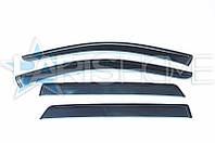 Ветровики на окна Audi A4 2008-2011, с 2012 Седан