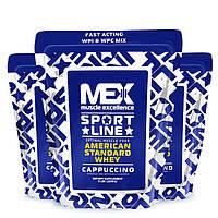 Протеин сывороточный MEX American Standard Whey (2,27 kg ) затерт срок годности