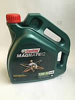 Масло моторное п/синтетическое 10W40 Magnatec A3/B4 (4L) Пр-во Castrol., фото 1