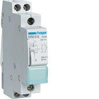 Импульсное релеr Hager EPN515 230В/16А 1НВ+1НЗ