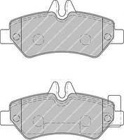 Колодки тормозные (задние) mb sprinter 209-319 cdi/vw crafter 30-35 06- (производство Ferodo ), код запчасти: FVR1780