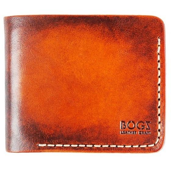 ef5d74de7762 Мужской кошелёк Bogz ручной работы Classic A13 Tan - Beige  продажа ...