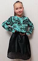 """Праздничное платье """"сетка подросток"""""""