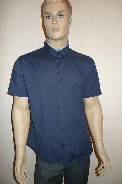 Синяя рубашка Dergi