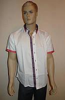 Белая приталенная сорочка Dergi (Турция), фото 1