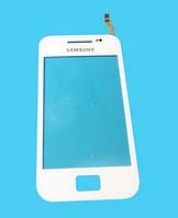 Оригинальный тачскрин / сенсор (сенсорное стекло) для Samsung Galaxy Ace S5830 (белый цвет)