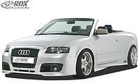 "RDX Передний бампер AUDI A4-8H convertible (-2005) ""SingleFrame"""