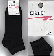 Носки женские демисезонные чёрные КЛАСИК Украина 23-25 размер НЖД-222