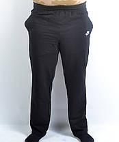 Штаны спортивные Nike трикотажные в больших размерах, фото 3