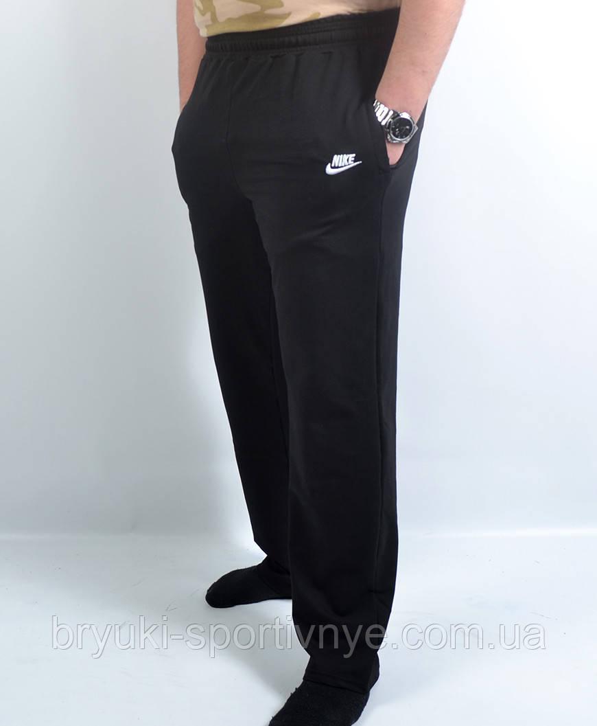 Штаны спортивные Nike трикотажные в больших размерах