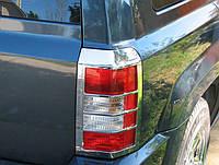 Накладки на задние фонари JEEP Patriot, 07-11