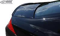 RDX Задний дифузор Mercedes CLS C219