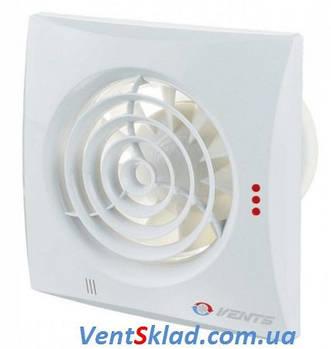 Бесшумный вытяжной вентилятор Вентс 100 Квайт