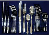 Набор столовых приборов BERGHOFF Aura Gold 1224374 на 6 персон (нерж. сталь, 24 предмета)