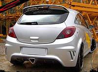Бампер задний OPEL Corsa D (2006-...).