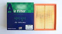 Фильтр воздушный Hyundai Sonata 2.0/2.4 2006-2009.Производитель Parts-Mall Корея 28113-3K010