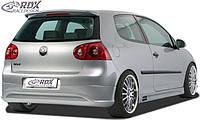 "RDX Задняя накладка бампера VW Golf 5 ""R32 clean"""