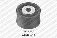 Ролик направляющий ремня грм Ford 6744307 (производство NTN-SNR ), код запчасти: GE352.11