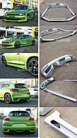 VW Scirocco 09- Накладка переднего и заднего бампера, накладки на пороги