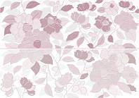 Декор-Панно Керабен Тиара Пинк 480*690 Keraben Tiara Pink плитка стеновая для ванной,гостинной.