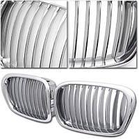 Декоративная решетка радиатора BMW E39 525/528/530/540/M5 '97-03 хром