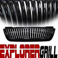 Декоративная решетка радиатора Ford Explorer '02-05 черная