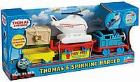 Thomas&Friends Thomas and Harold паровозик Томас и вертолет Гарольд