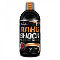 Предтренировочник BioTech AAKG Shock Extreme (1 l)